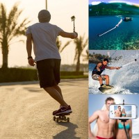 Wired Remote Selfie Monopod Phone Extendable Pole